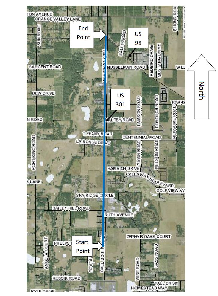 Zephyrhills-Dade City Potable Water Interconnect